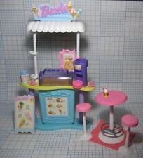 2000 Barbie Soda Shop Store Ice Cream Scoop n Swirl FURNITURE REPLACEMENT Stand