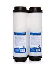 """2 X Filtro De Carbón Activado 10 """" • Filtro de agua • sistema de osmosis inversa • sustitución •"""