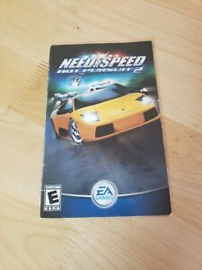 Need for Speed: Hot Pursuit 2 PS2 PlayStation 2 PS2 Instruction Book Manual ONLY