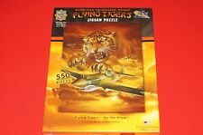 Master Pieces Flying Tigers Airplane 550 piece Jigsaw Puzzle Brand New Sealed