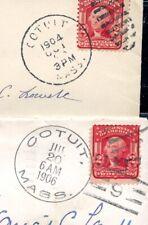 MASSCHUSETTS 1904-06 Cotuit DOANE cancel