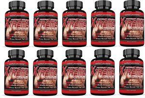 Xtreme 5000 Extreme Arginine Nitric Oxide Strength Endurance Recovery 10 Bottles