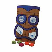 Tiki Bean Bag Toss Game - Toys - 7 Pieces