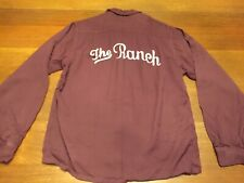 Vintage Town Topic Gab Twist Embroidered Bowling Team Shirt The Ranch Harold