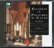 Sweelinck: Pseaumes De David - Richard Marlow - NEW CD