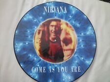 """RARE GERMAN NIRVANA COME AS YOU ARE LTD EDITION 12"""" PICTURE DISC GET 21 714"""