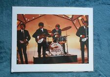 THE BEATLES  BEAUTIFUL MATTED STYLE PHOTO  DIRECT FROM LIVERPOOL ENGLAND