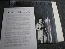 Gret Palucca-These Tunes are LP-Promosheet-Germany-Grunge
