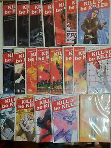 Kill Or Be Killed #1-20 Complete Series Ed Brubaker, Sean Philips Image Comics