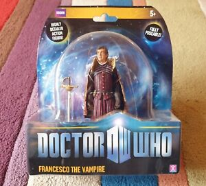 """Doctor Who Character Options 5"""" figure. Francesco the Vampire, series 5. Sealed"""