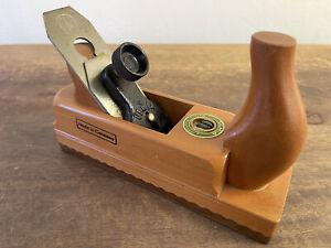 Ulmia Woodworking Hand Smoothing Plane 48mm - Adjustable NICE!