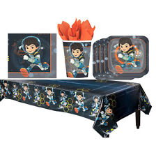 Miles From Tomorrowland Birthday Party Pack TableCover Plates Cups Napkins ~33pc