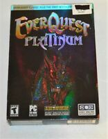 Everquest Platinum Deluxe PC CD-ROM Booklet Maps all included Complete