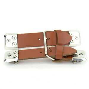 Leather Bonnet Straps - Short Tan