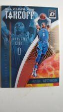 Russell Westbrook Carta Baloncesto Oklahoma City thunder NBA Card insert takeoff