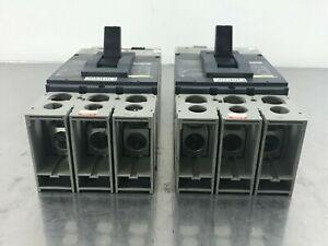 SQUARE D DJL36400E53 CIRCUIT BREAKER,MOLDED CASE, 600V, 400A (TESTED N CLEAN)