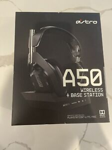 Astro A50 with Mod Kit Wireless Headphone - Black - PS4/PC/Mac