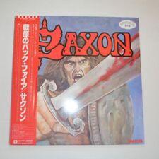 SAXON - FIRST - 1980 JAPAN LP PROMO SAMPLE