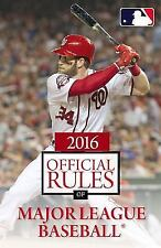 2016 Official Rules of Major League Baseball by Triumph Books