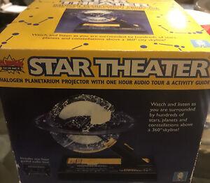NEW Star Theater Home Planetarium Vtg 1992 Uncle Milton Super Science w Audio
