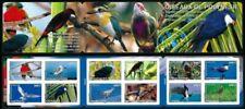 Timbres carnet, sur oiseaux