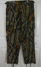 Ranger Realtree Camo Hunting Cargo Pants Youth Boys Large L 17x32 Brown 6-pocket