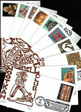 2004 - Dave Curtis - Matched Set of 10 - Art of the American Indian - #3873a-j