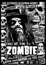ROB ZOMBIE Call Of The Zombie Logo Sticker NEW OFFICIAL MERCHANDISE Heavy Metal