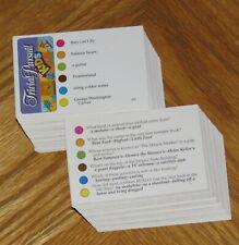Trivial Pursuit for Kids Volume 6 trivia cards game parts Junior Jr 2004 Hasbro
