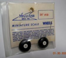 WILLIAMS BROTHERS VINTAGE NOS  3/4 INCH DIA.TIRES MODEL AIRPLANE RUBBER CO2 C02