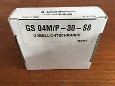 1PC NEW Leuze Electronic Proximity Sensor GS 04M/P-30-S8