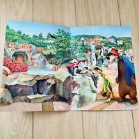 Tokyo Disneyland Splash Mountain Paper Picture Frame Critter Country Brer Rabbit