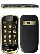 Nokia C7-00 Oro Dark Design Rarität 18-karätiges Gold Aplikation ohne Vertrag