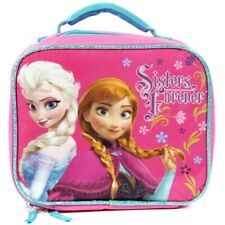 DISNEY FROZEN SISTERS FOREVER PVC & Lead-Safe Girls Insulated Lunch Tote Box