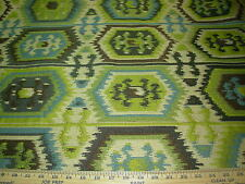 ~16 YDS~SOUTHWEST NATIVE AZTEK~EMBROIDERED TAPESTRY UPHOLSTERY FABRIC FOR LESS~