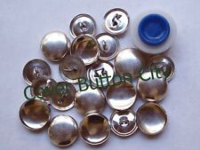 Cover Button Starter Kit Size 24 (1/2 inch) - Wire Backs