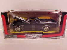 1970 Chevy El Camino SS Pick-up Truck Die-cast Car 1:24 New Ray 8 inch Black