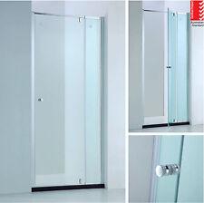 850-980mm Adjustable Wall to Wall Semi-Frameless Pivot Glass Panel Shower Screen