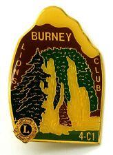 Pin Spilla Lions International Burney Lions Club 4-C1