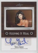 2012 Leaf Pop Century Keeping it Real #KR-TG1 Teresa Giudice Auto Card 0aa