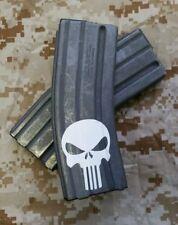 Punisher Magazine Decal Vinyl Sticker  Rifle Airsoft 6 Pack from USA