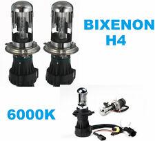 Coppia lampade bulbi universali BIXENON ricambio H4 6000K.Bianco Bixeno 6000 K.