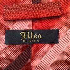 ALTEA MILANO Striped Silk Tie M. I. Italy