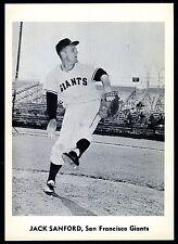 JACK SANFORD~SAN FRANCISCO GIANTS~RARE 1960 JAY PUBLISHING PACK-FRESH B/W PHOTO