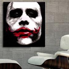Poster Joker Heath Ledger Dark Knight 40x40 in (100x100 cm) Adhesive Vinyl #34