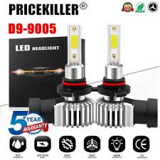 2x 9005 HB3 LED Headlight KIT Fog Bulb Light Hi/Lo Beam 6000K VS Xenon HID White