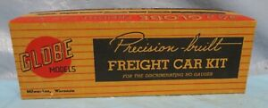 """Globe Models 40 FT. STOCK  CAR UNION PACIFIC (Yellow Sides) 5000-A   """"BOX ONLY"""""""