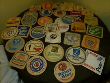 Lot Of Vintage Beer Coasters - Over 40