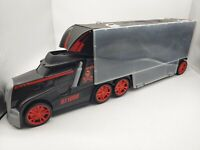 Toy R Us Fast Lane Semi Truck Carrying Case for toy cars: Hot Wheels, Matchbox