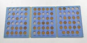 Partial Set 1909-1940 Lincoln Wheat Cent Album - Early Dates Collection *045